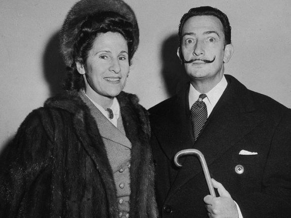Dali and his wife, Gala