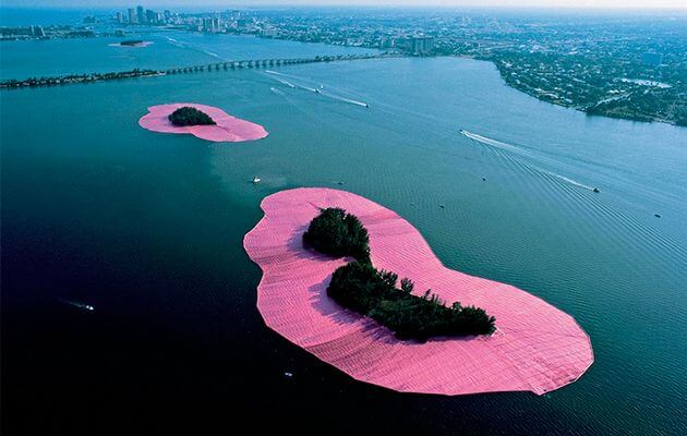 Surrounded Islands, Christo & Jeanne Claude