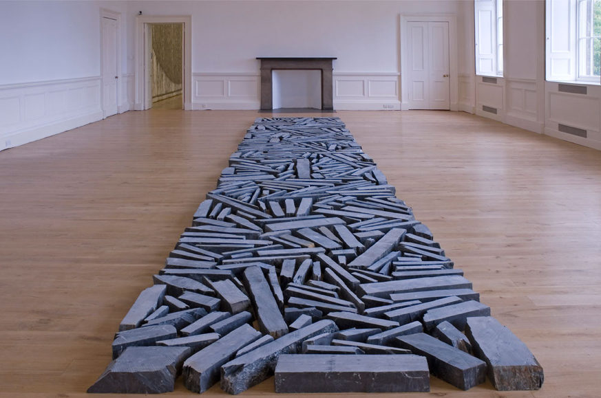 Richard Long, Stoneline