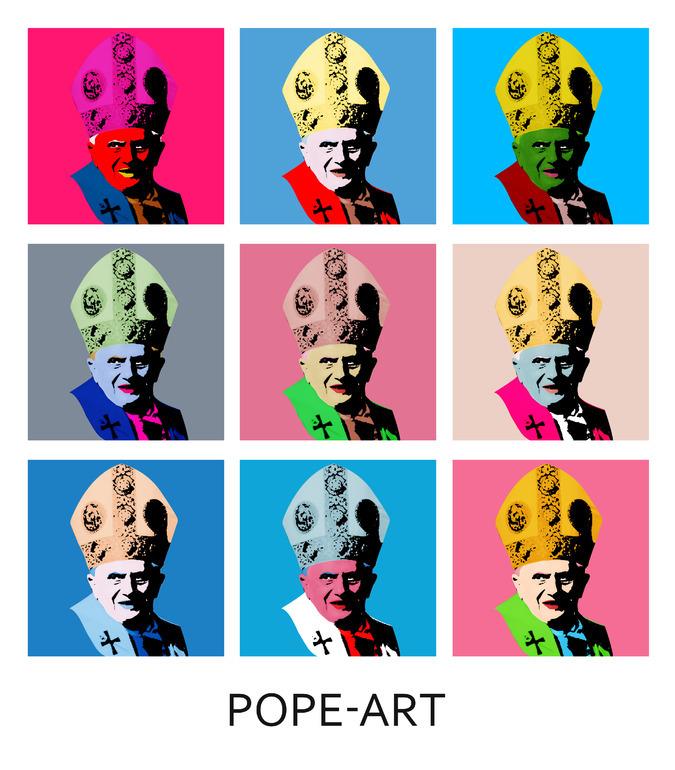Pope art