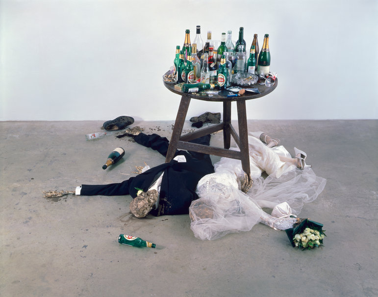 Damien Adam and Eve under the table, Damien Hirst