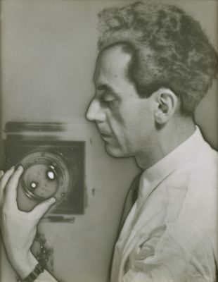 Man Ray Self-Portrait with Camera, 1932 by Man Ray The Jewish Museum, New York