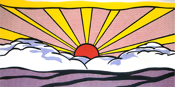 roy-lichtenstein-sunrise