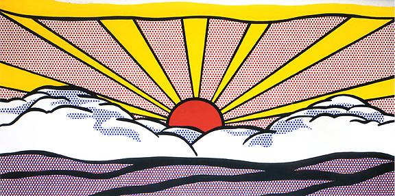 roy-lichtenstein-sunrise