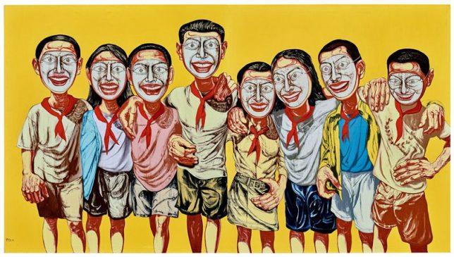 Zeng Fanzhi, Mask Serie