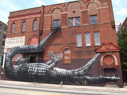 Street artistes Roa