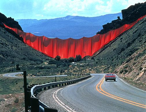 Valley Curtain, Christo et Jeanne Claude