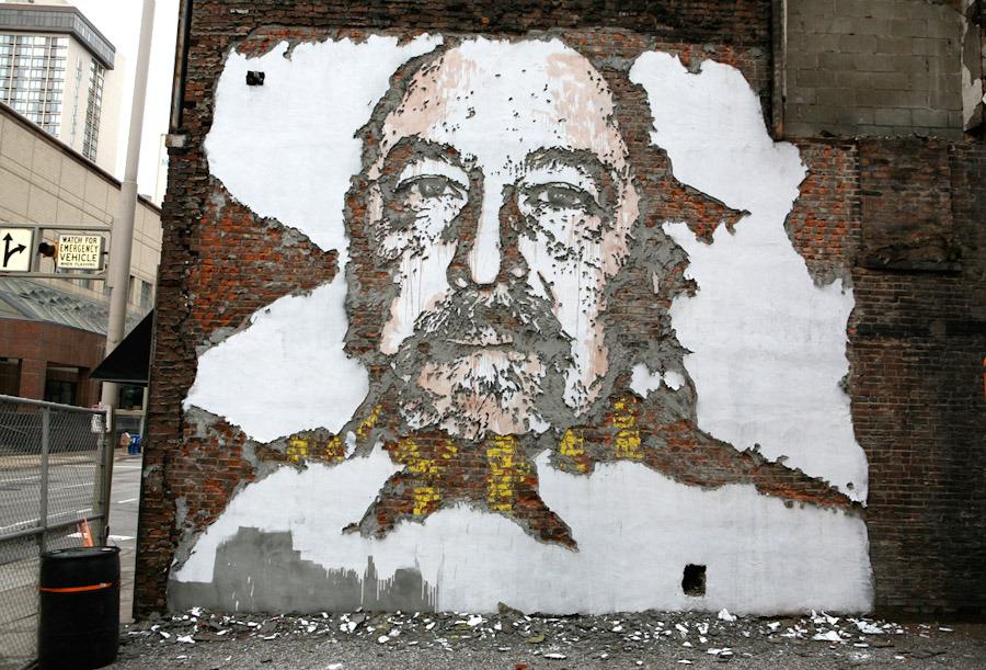 street artistes Vhils Kentucky