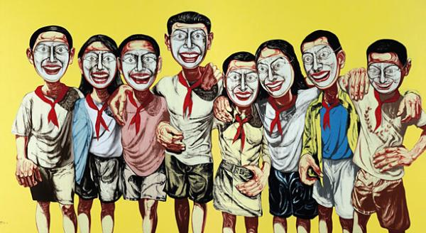 Zeng_Fanzhi_-_Mask_Series_1996_No._6_-_sold_for_U.S._9_7_million_a_record_for_Chinese_contemporary_art-600x328