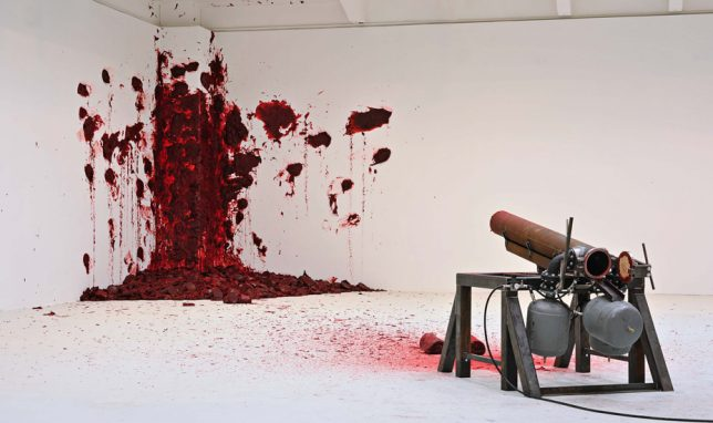 """Shooting into the corner"" ©Anish Kapoor"