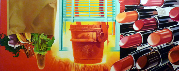 House on Fire - James Rosenquist