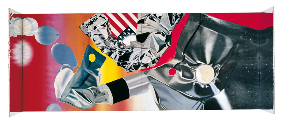 James Rosenquist, Capsule flamant