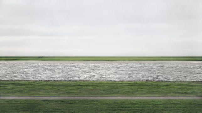 Andreas Gursky, Rhein View, 1999