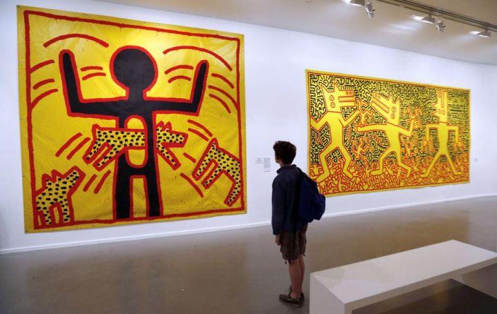 Keith Haring, Musée d'Art moderne de la Ville de Paris
