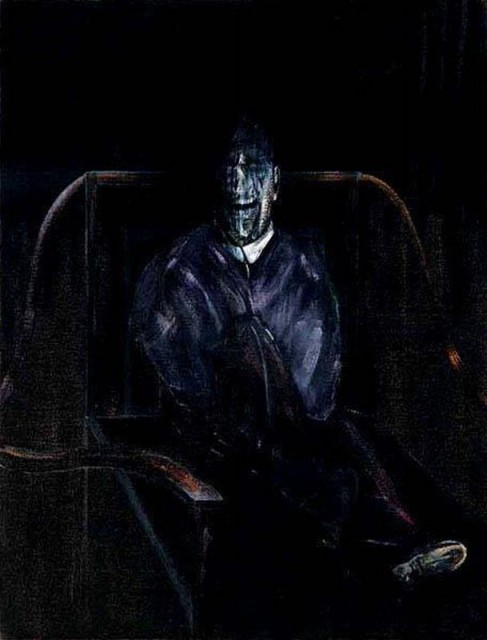 Francis Bacon - Portrait of a Cardinal I