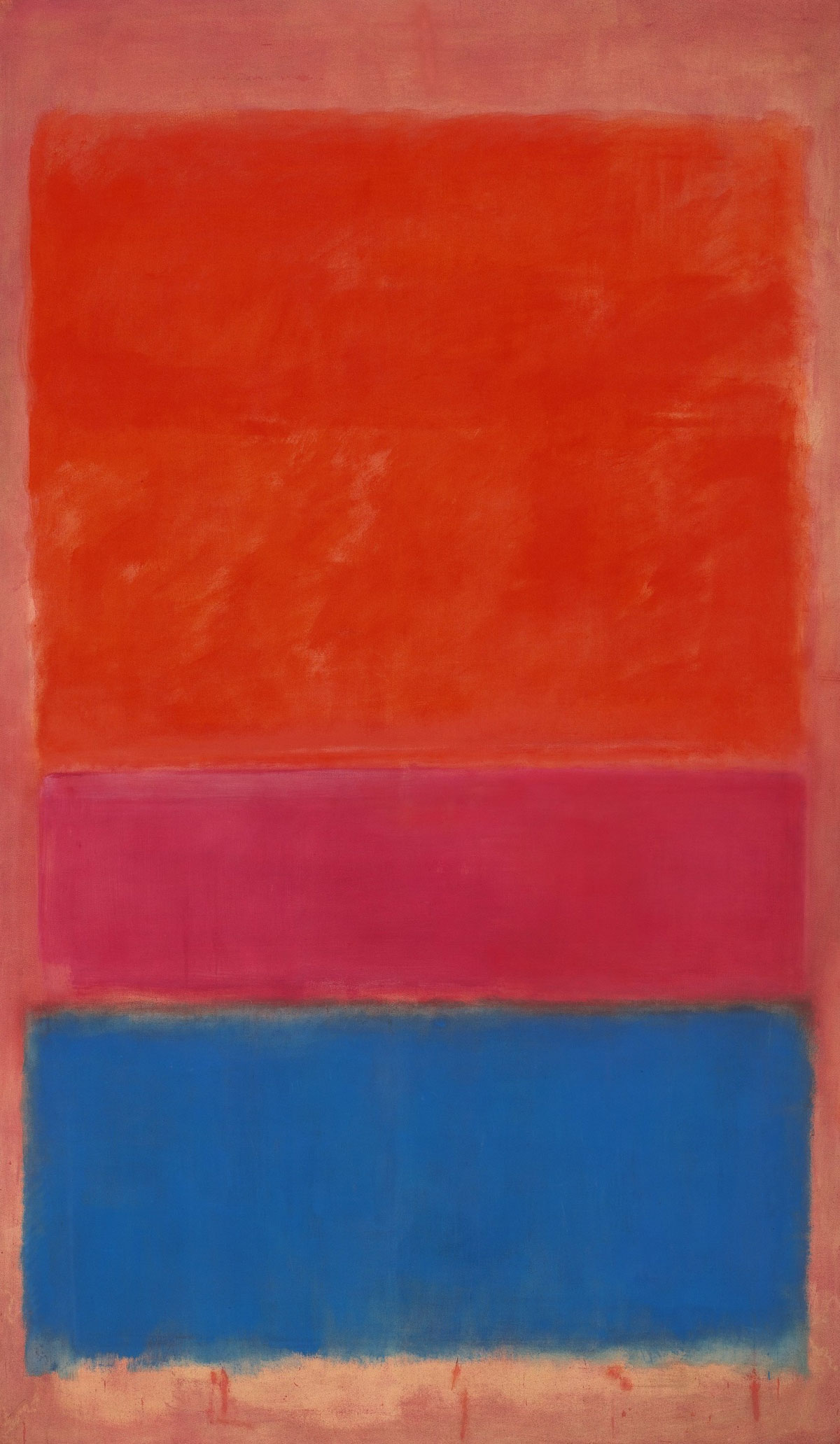 Mark Rothko's 1954 No.1 (Royal Red and Blue)