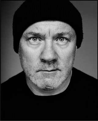 L'artiste Damien Hirst © David Bailey