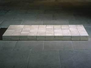 Equivalent VIII 1966 by Carl Andre born 1935