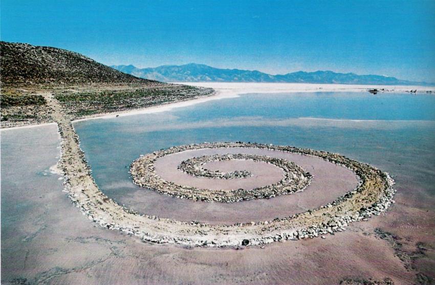 Robert Smithson, Spiral Jetty, Land Art