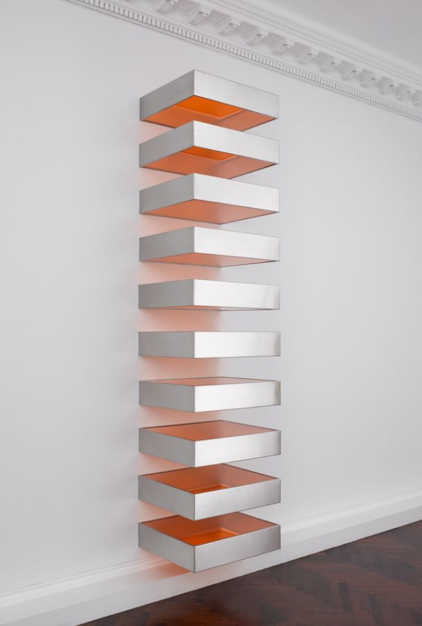 1960 minimal art or the renewal of modern art artsper for Donald judd stack 1972