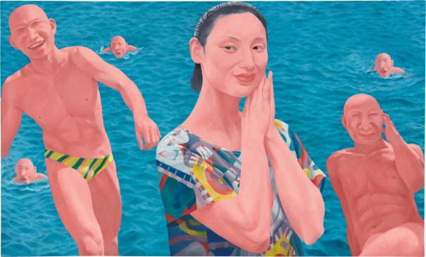 Série 2, No. 10, Fang Lijun