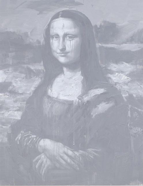 Yan Pei-Ming, Les Funérailles de Monna Lisa