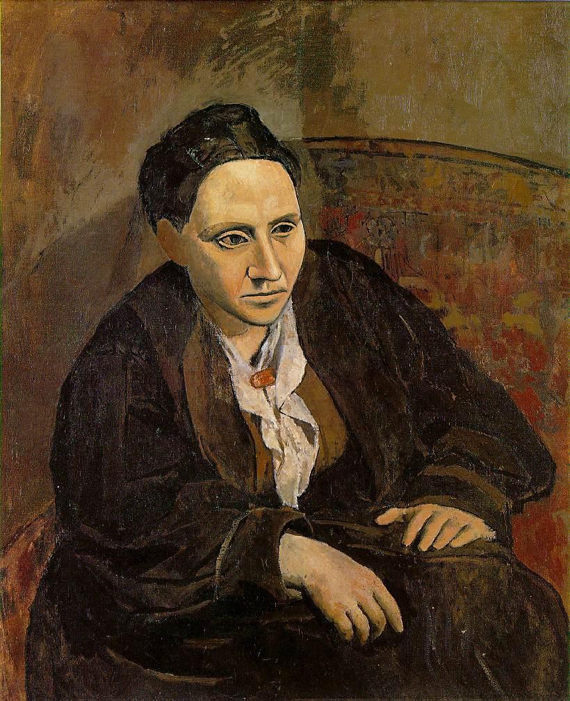 Picasso Portrait de Gertrude Stein artsper