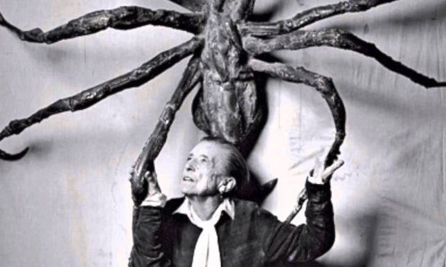 Louise Bourgeois : the spider, the mistress and the tangerine