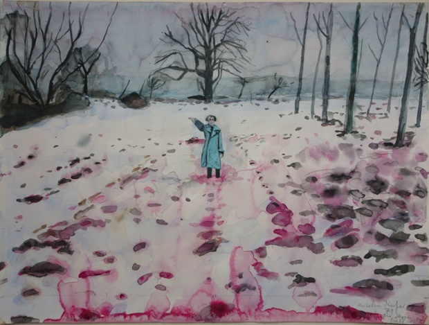 Anselm Kiefer Ice and blood 71