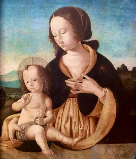 peinture jesus