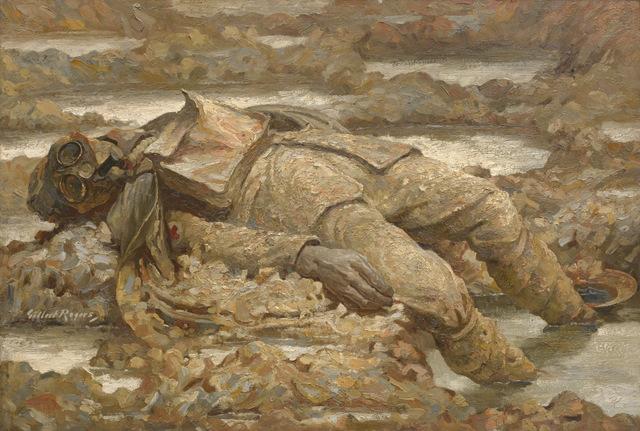 Gilbert Rogers, Gassed. 'In Arduis Fidelis', 1919