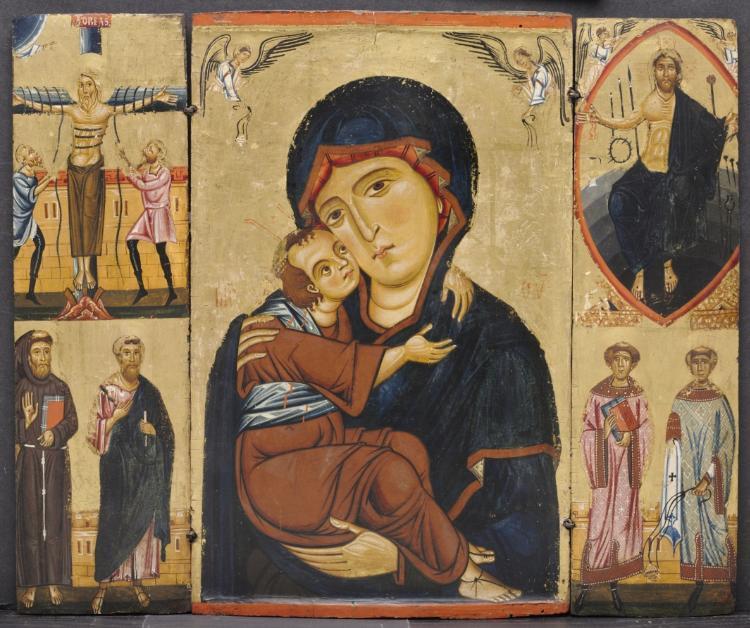 bébé moche representation peinture jesus