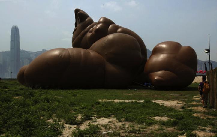 Paul McCarthy, Complex Pile, 2013, Hong Kong
