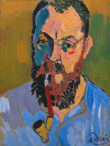 1+Derain++portrait+de+Matisse