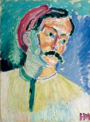 8[1]. MATISSE, portrait de Derain