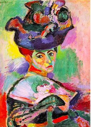 Matisse.Femmeauchapeau