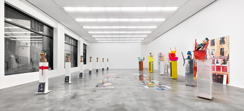 Hauser-Wirth-London-Savile-Row-Isa-Genzken-Installation-view-132