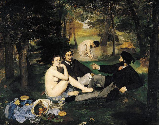 Déjeuner sur l'herbe, Edouard Manet, 1863