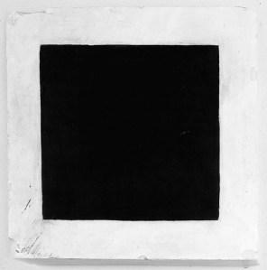 14[1]. MALEVITCH, carré noir sur fond blanc