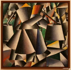 24 Malevitch Femme au seau 1912 Guggenheim NYC