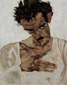 Egon-Schiele-Autoportrait-1912