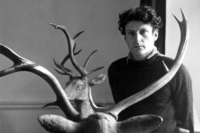 portrait photo du peintre Lucian freud