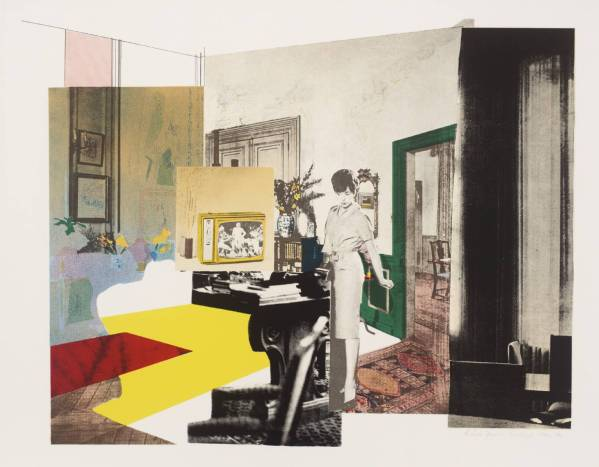 Interior 1964-5 by Richard Hamilton 1922-2011