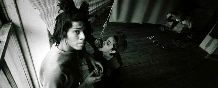 Jean-Michel Basquiat and Madonna