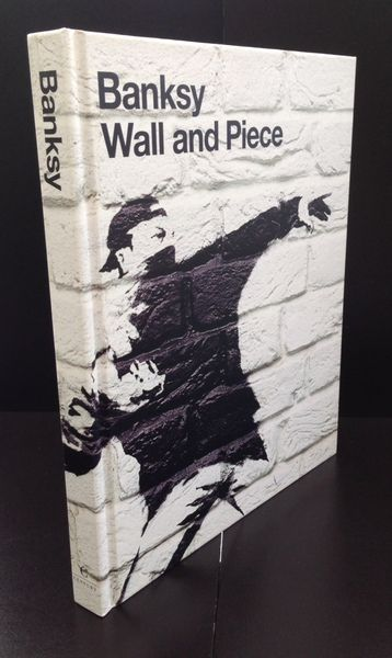 livre wall and piece de Banksy
