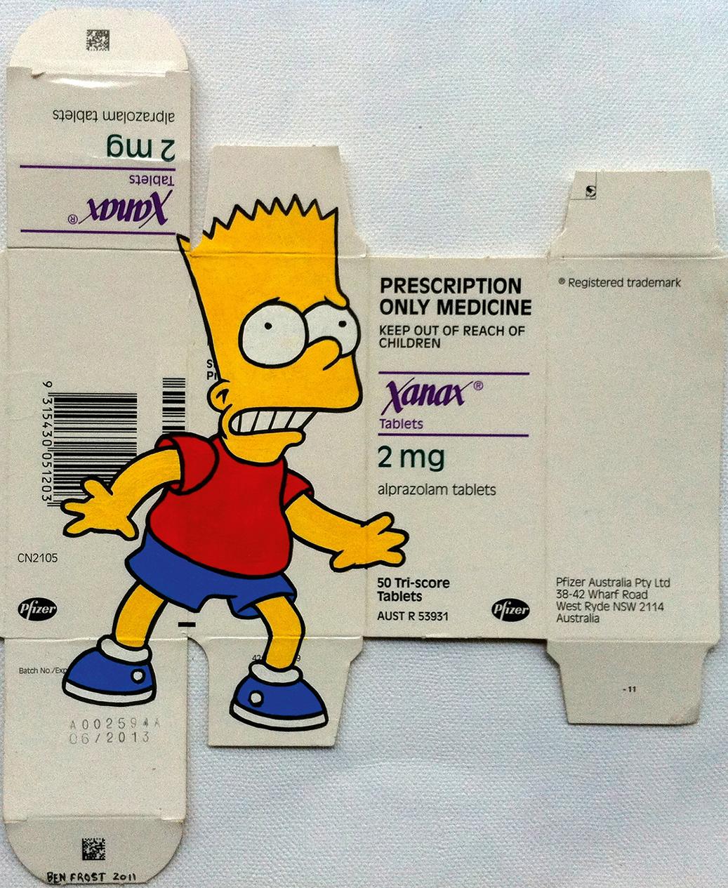 Bart-on-Xanax