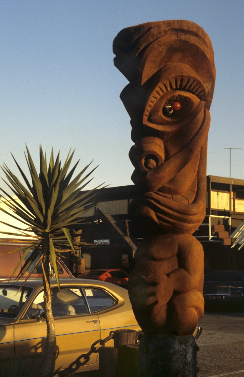 Roadside Tiki Figure