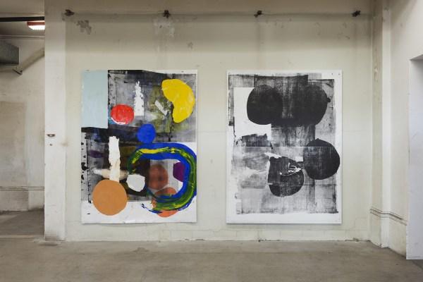 Linus Bill + Adrien Horni (Courtesy Galerie Allen)