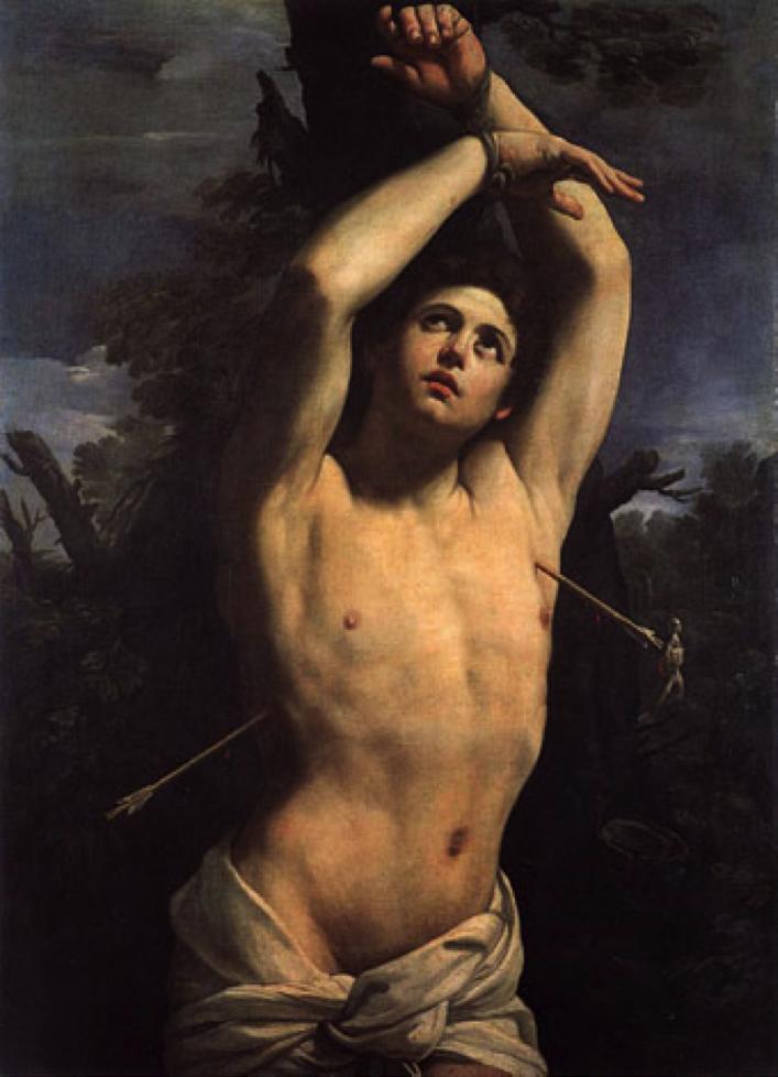 Saint Sebastien, Guido Reni, 1615