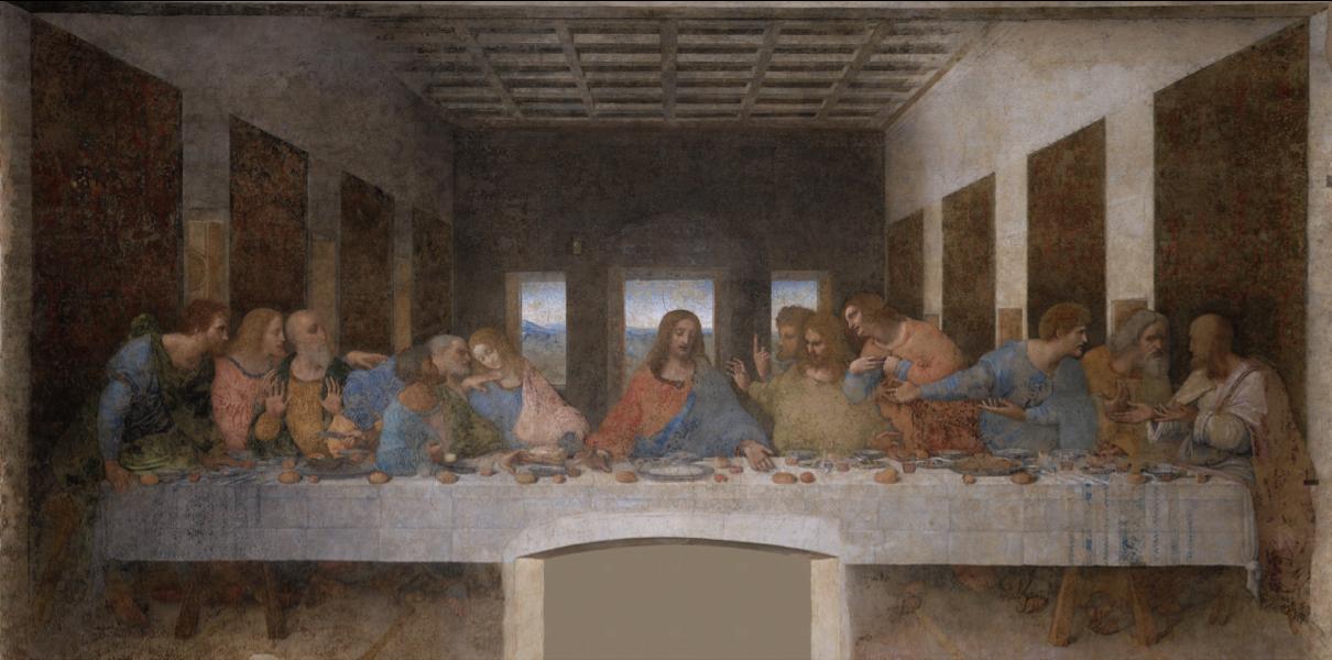 La Cène, Léonard de Vinci, 1495-1498